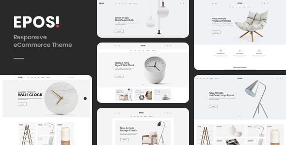 Eposi - Minimal Theme for WooCommerce WordPress