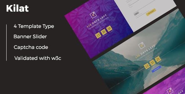 Download Kilat - Coming Soon HTML with Captcha Form Validation