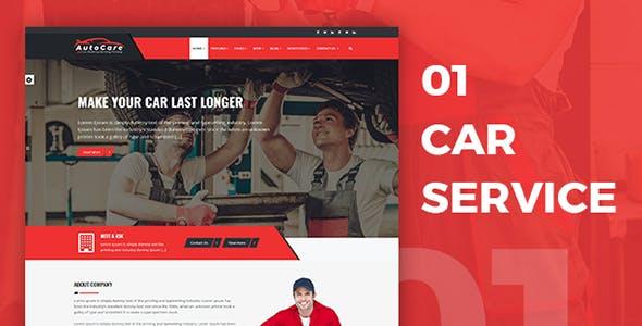 AutoCare | Car Service Car Washing & Car Repair HTML Template