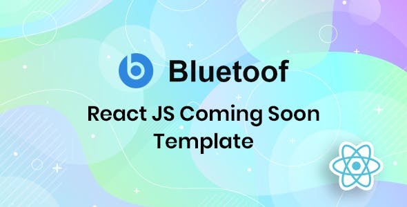 Download Bluetoof - React JS Coming Soon Template
