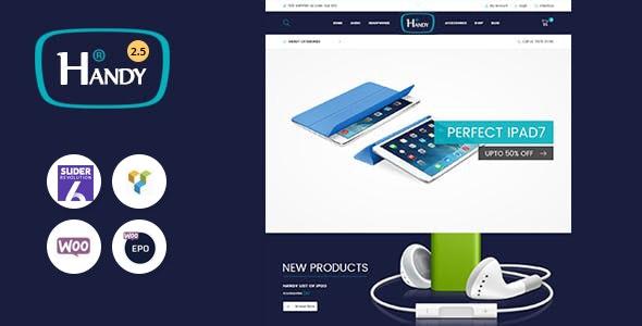 Handy Shop - Digital RTL Responsive WooComerce WordPress Theme - WooCommerce eCommerce
