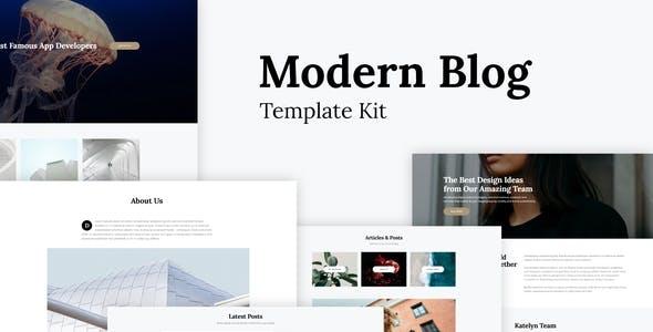 Katelyn - Modern Blog Template Kit