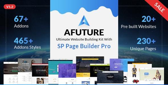 A Future - Creative Multipurpose Joomla Template - Corporate Joomla
