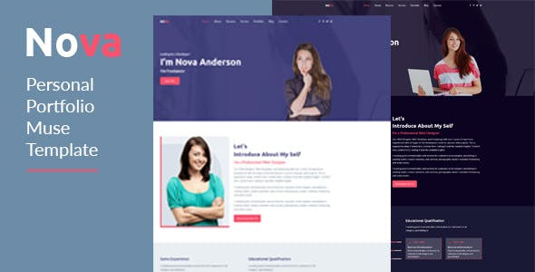 Download Nova-Personal Portfolio Template