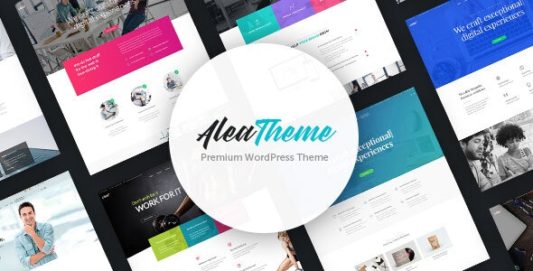 Alea - Business Multipurpose WordPress Theme - Business Corporate