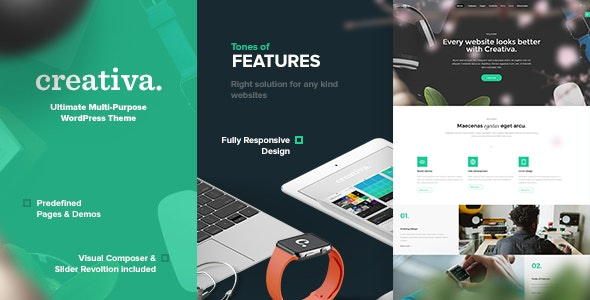 Creativa - Multi-Purpose WordPress Theme - Corporate WordPress