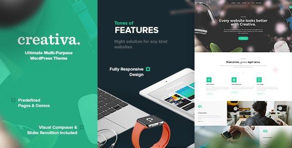 Creativa - Multi-Purpose WordPress Theme