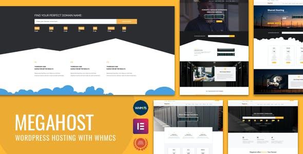 Hosting WordPress theme with WHMCS - MegaHost