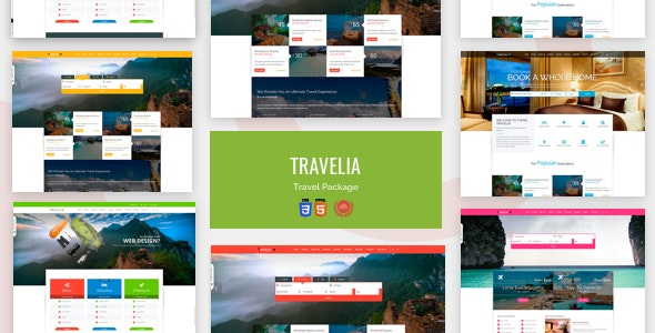 TRAVELIA - Travel Package HTML5 Template - Travel Retail