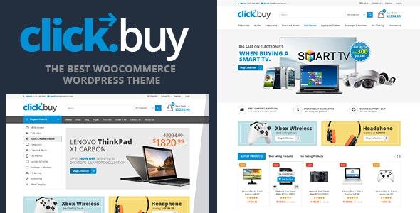 Clickbuy - WooCommerce Responsive Digital Theme - WooCommerce eCommerce