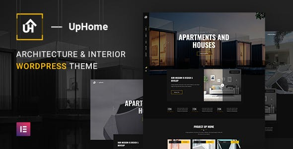 Download UpHome - Modern Architecture WordPress Theme