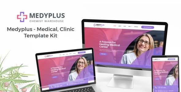 Medyplus - Medical, Clinic Template Kit