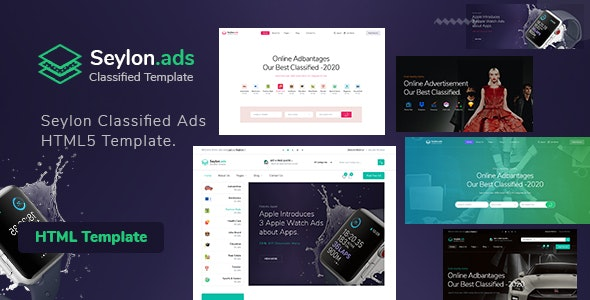 Seylon - Classified Ads HTML5 Template - Business Corporate