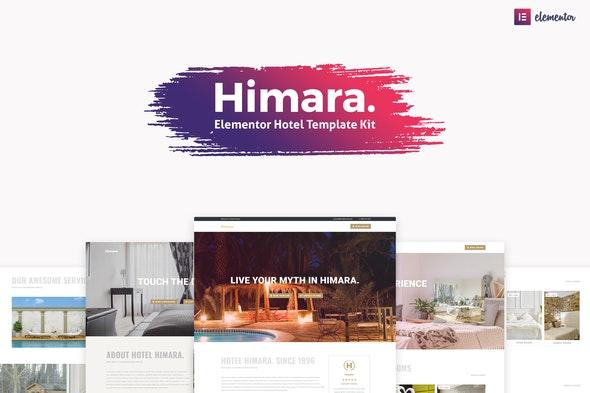 Himara - Hotel Template Kit - Travel & Accomodation Elementor