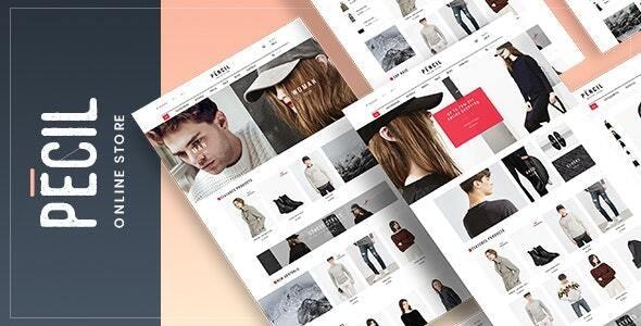 Pecil - Fashion WooCommerce Theme - WooCommerce eCommerce