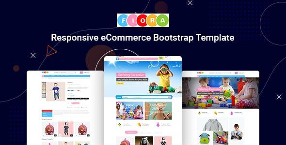 Fiora - Kids Store HTML Template