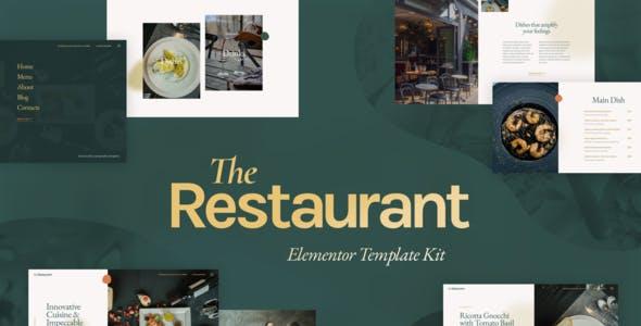 The Restaurant - Elementor Template Kit