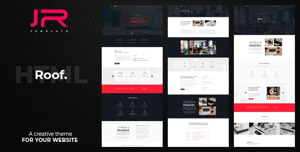 Roof. - Creative Agency, Corporate and Multi-purpose Template - Corporate Site Templates