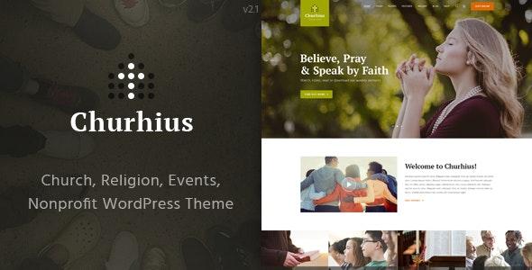 Churhius Theme Preview