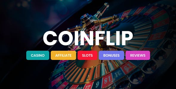 coinflip oyun blog wordpress teması