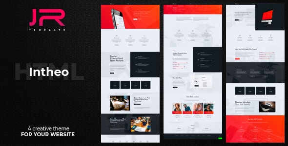 IN-Theo, Creative Agency, Corporate and Multi-purpose Template - Creative Site Templates
