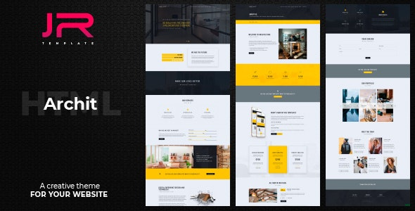 Archit — Creative Agency Multi Purpose Template - Corporate Site Templates