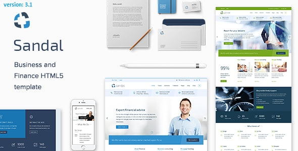 Sandal - Ultimate Business Drupal 8.8 Template - Drupal CMS Themes