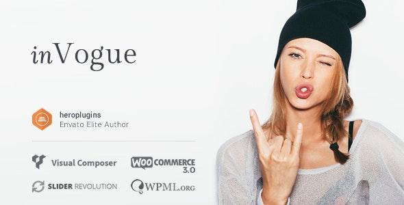 inVogue - WordPress Fashion Shopping Theme - WooCommerce eCommerce