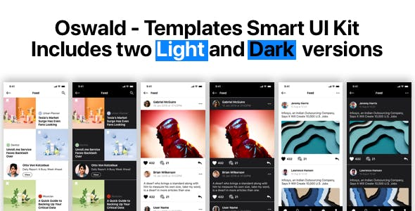 Oswald - Templates Smart UI Kit