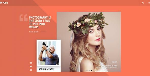 Poro - Photography Template Kit