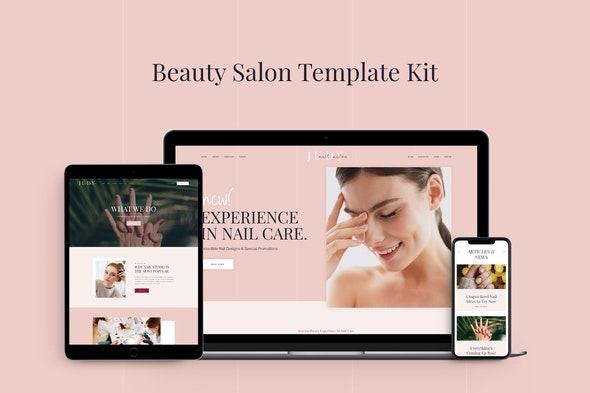 Judy - Beauty Salon Template Kit - Fashion & Beauty Elementor