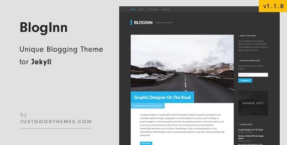 BlogInn - Bold Theme for Jekyll - Jekyll Static Site Generators