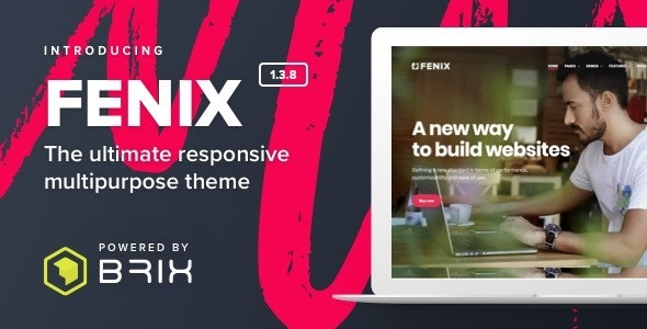 Fenix - Responsive Multi-Purpose WordPress theme - Creative WordPress
