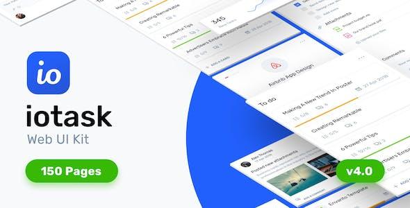 IOTask - Project Management UI Kit