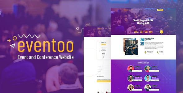 Download Eventoo - Event HTML Template