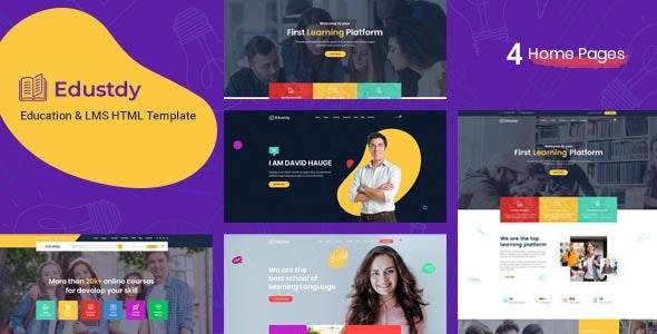 Edustdy   Education HTML Template - Corporate Site Templates