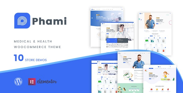 Phami – Medical & Health WooCommerce Theme - WooCommerce eCommerce