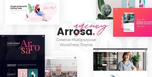 Arrosa - Startup Business Theme