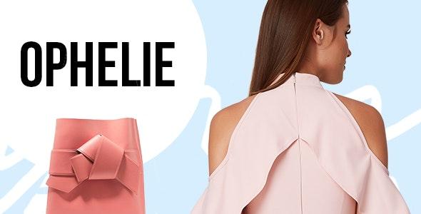 Ophelie - Fashion Shop Theme - WooCommerce eCommerce