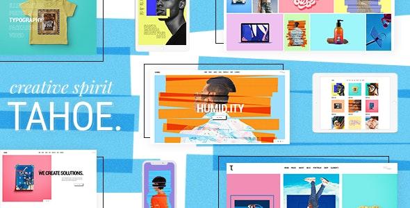 Tahoe - Portfolio Theme for Creatives and Freelancers - Creative WordPress