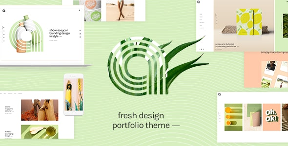 Agava - Design Portfolio Theme - Portfolio Creative