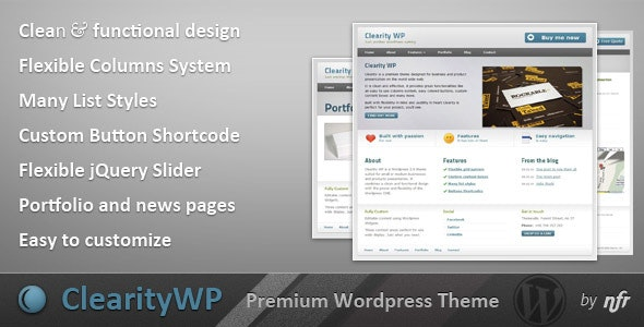 Clearity WP - Business Corporate