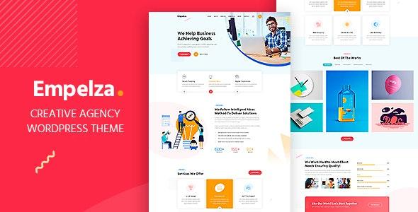 Empelza - Creative Agency & Portfolio WordPress Theme - Business Corporate