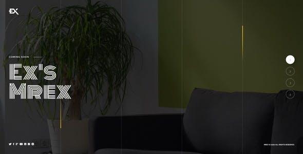 Download Mrex - Coming Soon Template