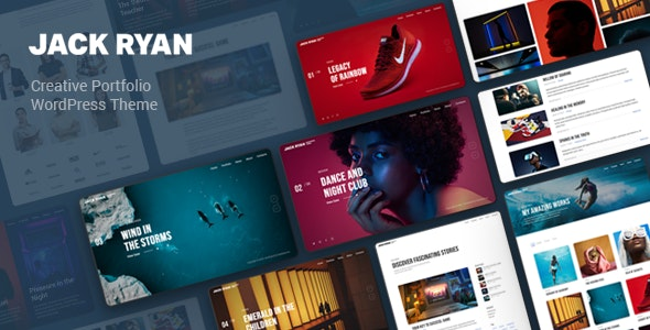 Jack Ryan - Creative Portfolio WordPress Theme - Portfolio Creative
