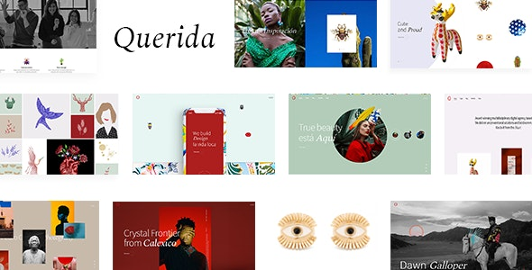 Querida - Creative Agency Theme - Creative WordPress