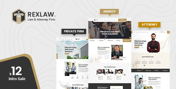 Rexlaw - Law Lawyer and Attorney
