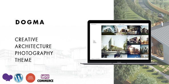 Dogma - Responsive Architecture WordPress Theme - Business Corporate