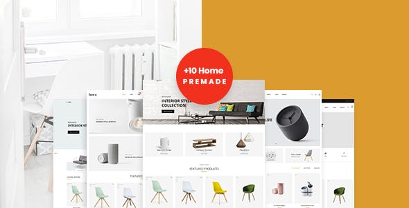 Home Decor Website Templates From Themeforest