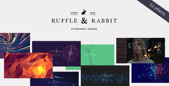 Rabbit - Exclusive Coming Soon WordPress Theme - Business Corporate